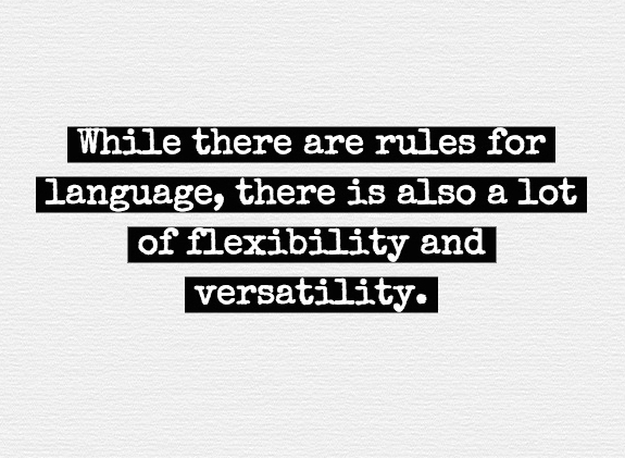 rules flexibility versatility