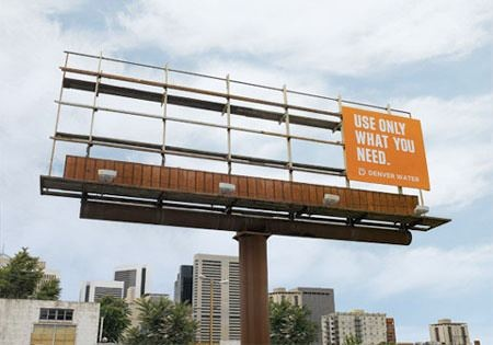 use less billboard
