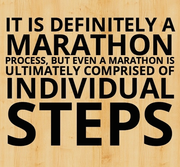 marathon of steps